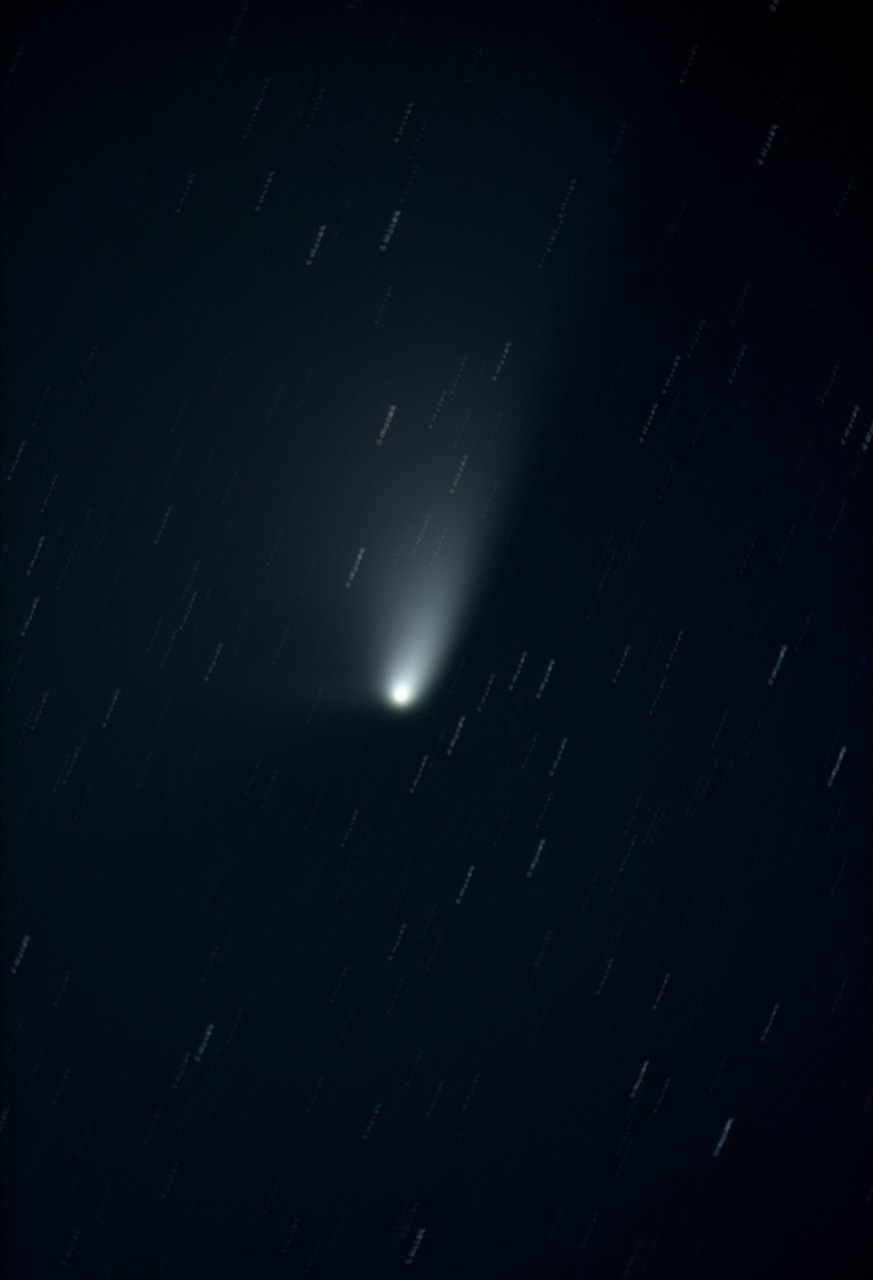 Comet Panstarrs composite exposures 35-43 40minutes small