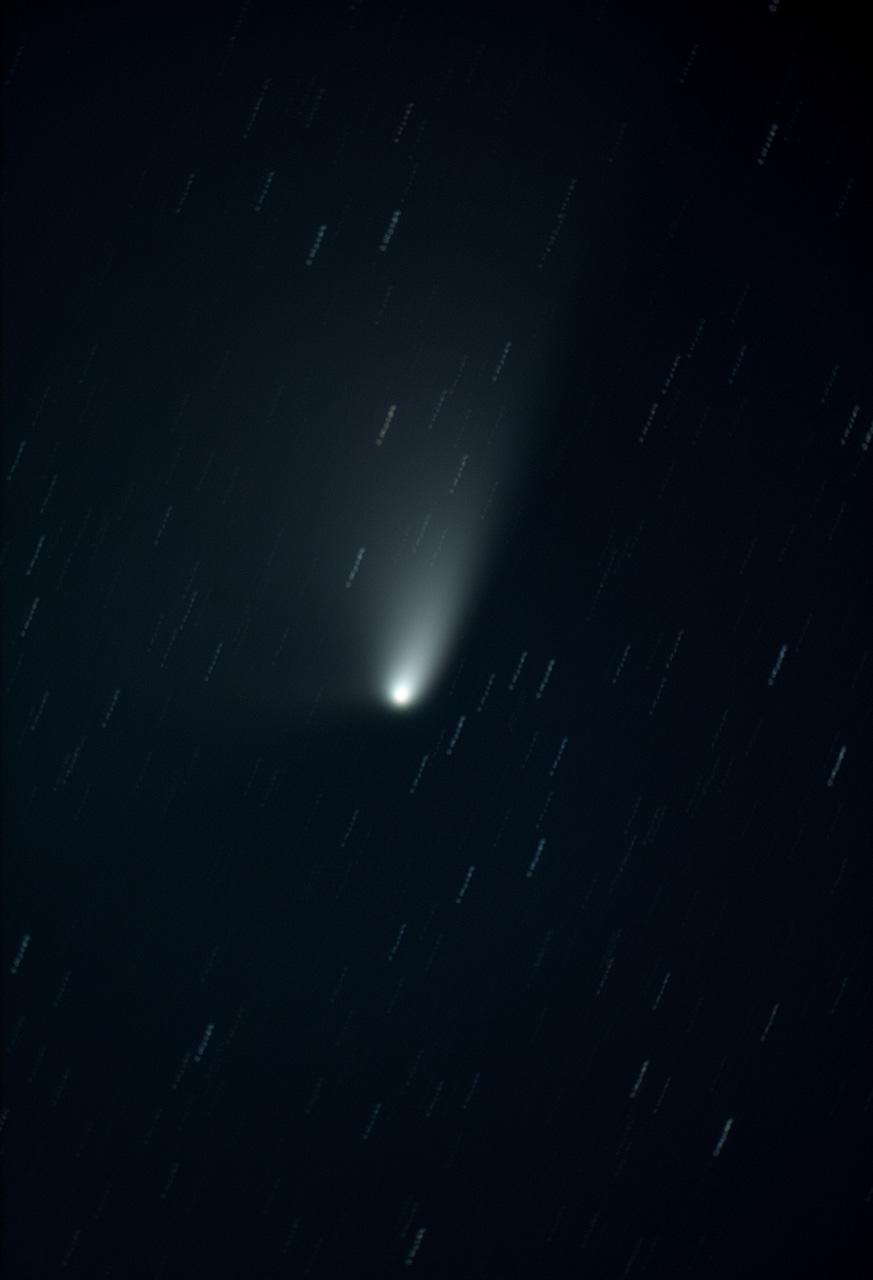 Comet Panstarrs composite exposures 35-43 40minutes small