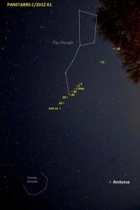 PANSTARRS path Apr 24 - May 18 small