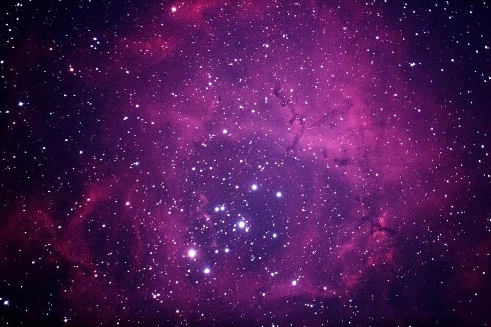 Rosette Nebula - imaged 18/3/12