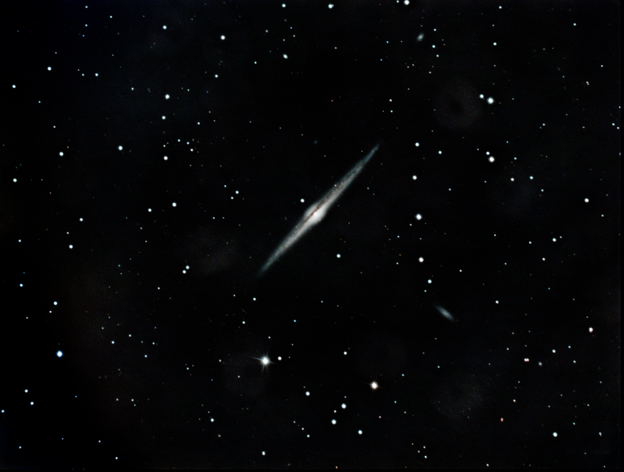 NGC4565, the Needle Galaxy in Coma Berenices. Imaged from Kendal.