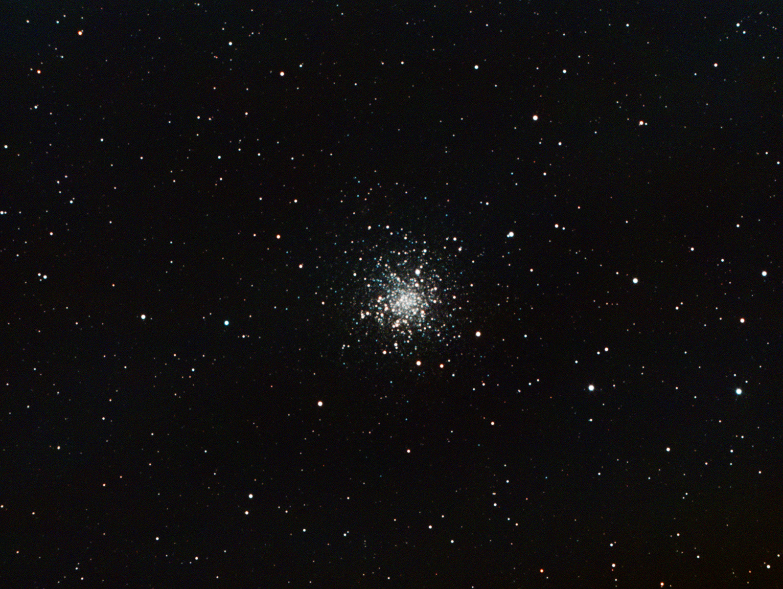 M12 in Ophiucus. Imaged from Kendal.
